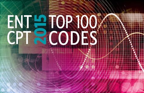 Top 100 Ent Cpt Codes For 2015