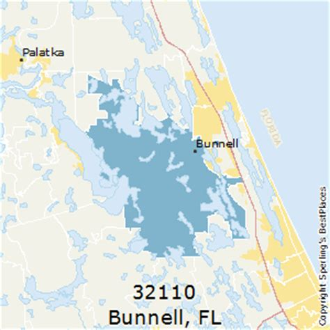 places    bunnell zip  florida