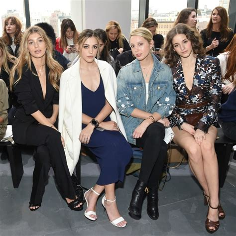 Royals At Fashion Week In The Front Row At Fashion Shows