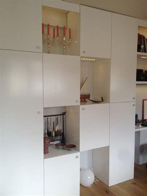 rangement ikea cuisine création mur de rangements sur mesure et rénovation