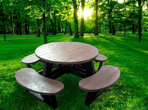 plastic composite picnic tables recycled composite furniture picnic tables