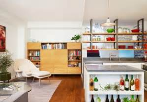 kitchen island with storage cabinets ways to decorate with hanging shelves