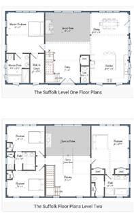 Two Story Floor Plan 30 Barndominium Floor Plans For Different Purpose