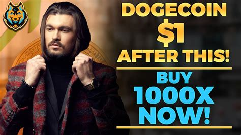 Dogecoin Will EXPLODE After This RESET (Dogecoin To $1 ...
