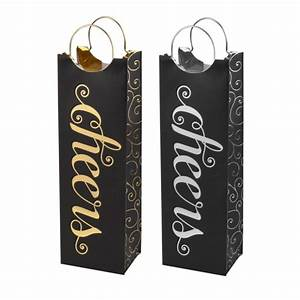Marketplace: Cheers 1-Bottle Wine Gift Bag - Cakewalk by