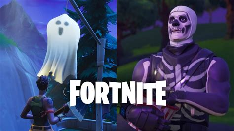 complete fortnites destroy  ghost decoration