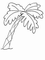 Coloring Trees Tree Dibujos Colorear Tumbuhan Arboles Frutales Tumbuh Az Palm Gambar Palmeras Alberi Tema Untuk Infantiles Tree7 Recortar Pintar sketch template
