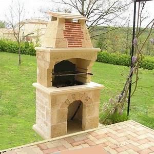 Barbecue En Dur : barbecue en dur exterieur ~ Melissatoandfro.com Idées de Décoration