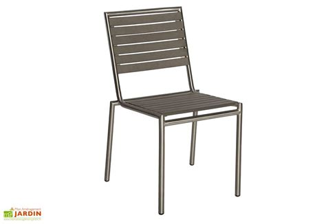 stunning chaise de jardin inox contemporary
