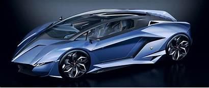 Lamborghini Concept Cars Resonare Vehicle Supercar Sports