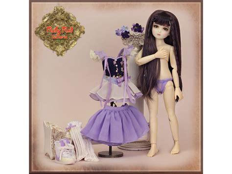 poupee lia fee aux fleurs de cerisier version purple