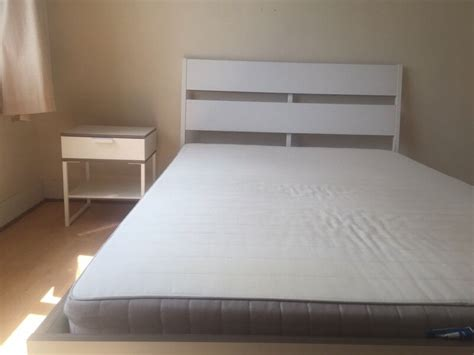 Trysil Ikea Bett by White Bed Ikea Trysil New In Luton