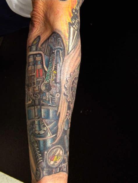 25+ Best Ideas About Mechanical Arm Tattoo On Pinterest