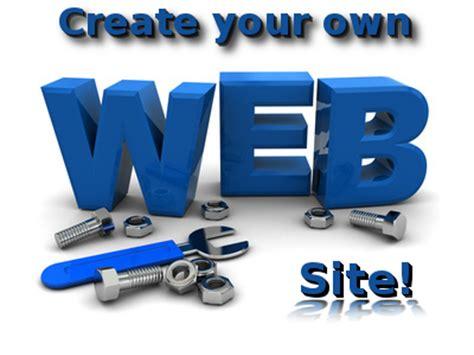 design your website create your own website