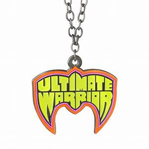 """Ultimate Warrior """"Parts Unknown"""" Pendant - WWE US"""