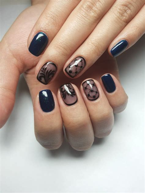 35 Nail Design Ideas For The Latest Autumnwinter Trends