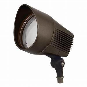 Hubbell 03199  277 Volt 4000k Bronze Led Bullet Light Fixture  21 Watt Led Bullet