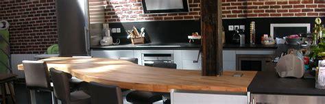 plan de travail cuisine 4m flip design fabricant de plan de travail en bois massif