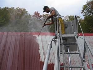 Peinture Pour Toiture : tole toiture peinture ~ Melissatoandfro.com Idées de Décoration