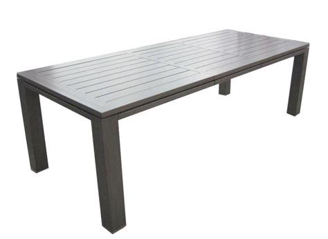 Table De Jardin Aluminium 180240cm Latino  Gamme Alizé