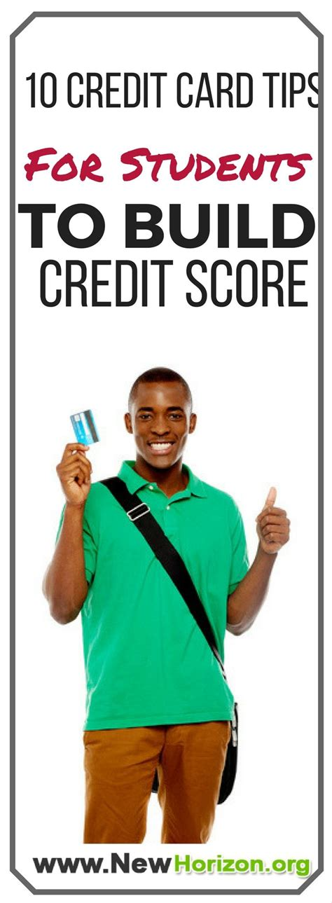 Maybe you would like to learn more about one of these? 10 Credit Card Tips For Students To Build Credit Score   Building credit score, Best credit card ...