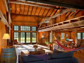 pole barn home interior 10 rustic barn ideas to use in your contemporary home freshome