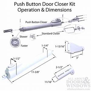 Andersen    Emco 1 Pack Push Button Storm    Screen Door