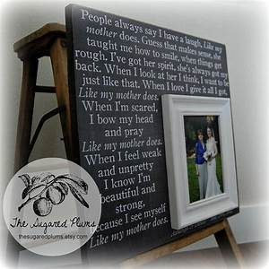 mother of the bride gift personalized picture frame wedding With wedding gifts for mother of bride