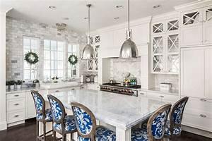 Beautiful, White, Kitchens