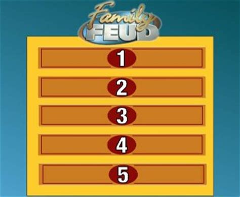 family feud template pdf how to make a family feud in keynote