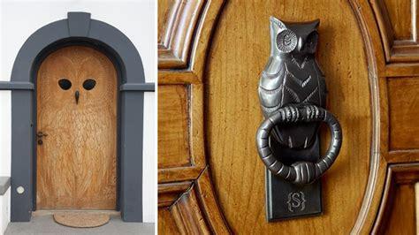 owl door  amazing home design garden