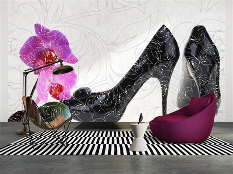 livingwalls photo wallpaper high heel