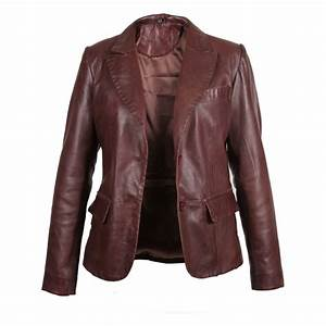 Womens Leather Blazer Jackets | Jackets Review