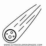 Meteorito Meteoro Ultracoloringpages sketch template