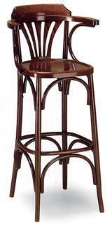 chaise haute hello tabouret de bar bistrot assise bois