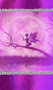 #bling #purple #fairy #madebyniki | Pink love, Wallpaper ...