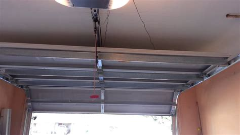 garage door goes up and garage door opner with door going up door going 3 ins
