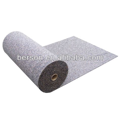 acoustical underlayment recycled rubber acoustic underlay 3mm rubber acoustical underlayment acoustic recycled rubber