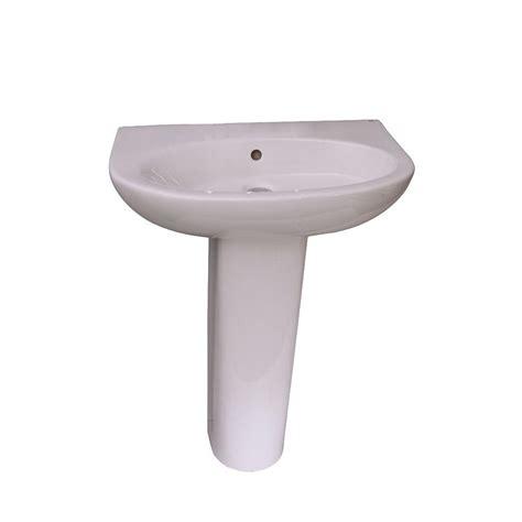 18 inch pedestal sink washington 460 18 in pedestal combo bathroom sink in