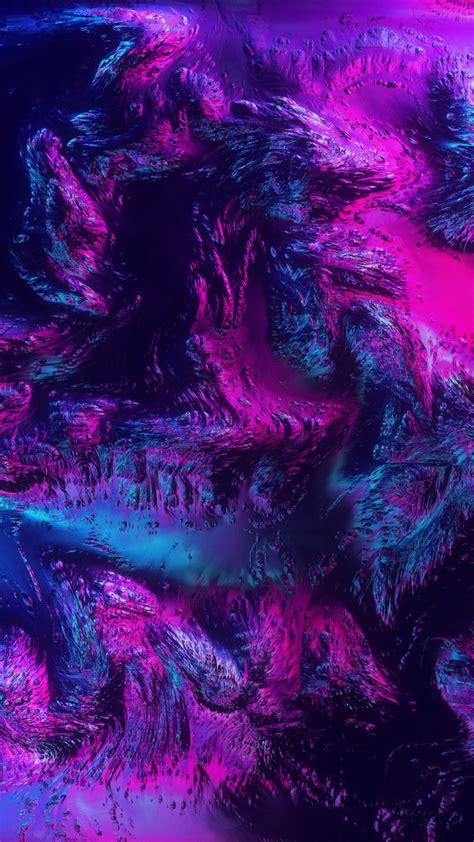 wallpaper neon terrain surface purple pink