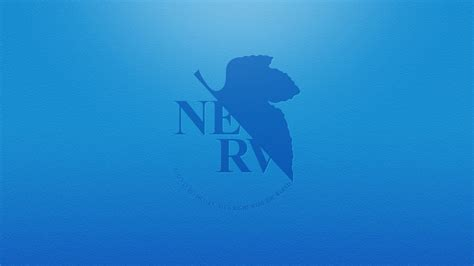 Hd Wallpaper Black And Red Blue Nerv Wallpaper 6992
