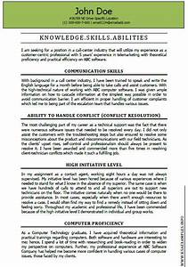 ksas examples are definitely a great level of help for the With ksa resume examples