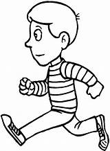 Running Coloring Pages Boy Run Printable Race Children Fast Clip Getcoloringpages Person Kid Print Getcolorings sketch template