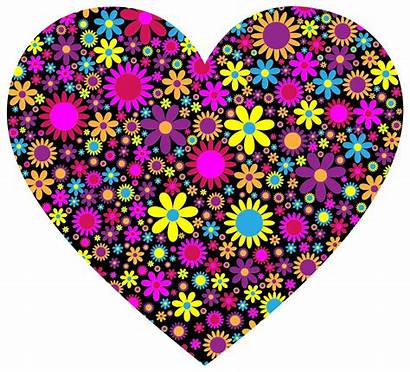 Heart Floral Clip Clipart Pinclipart Onlinelabels