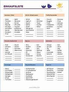 Haushalt Organisieren Plan Vorlage : xobbu einkaufsliste vorlage formulare und vordrucke flylady filofax und bullet journal ~ Buech-reservation.com Haus und Dekorationen