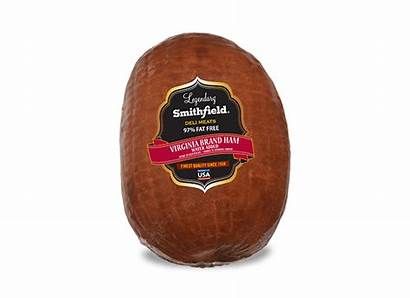 Ham Brand Virginia Smithfield Smoked Deli Lunchmeat