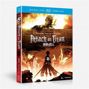 Attack on Titan - Part One - Combo Pack - Standard Edition ...