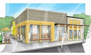 concept architectural drawing restaurant - Google Search ...