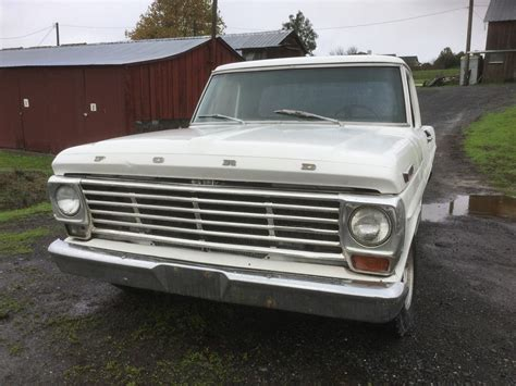 ford  pickup short bed fleetside classic ford