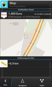 günstig tanken app kostenlos g 252 nstig tanken germany blackberry app chip